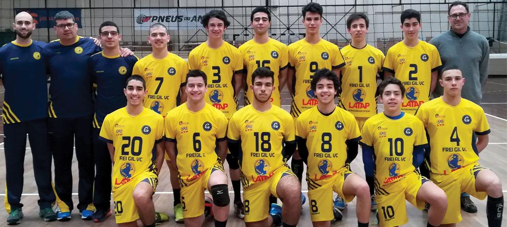 Juvenis masculinos do FGVC são campeões nacionais