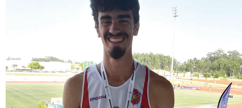 Carlos Claro conquista medalha em Vagos