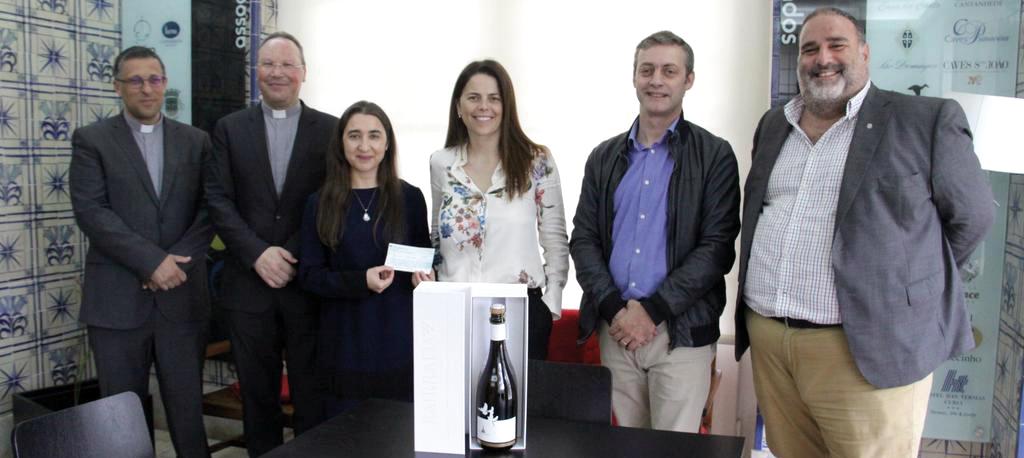 Espumante comemorativo das Aparições de Fátima: Bairrada doou mais de 9 mil euros a IPSS que apoia crianças