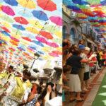 Agitágueda: Carnaval Fora D'Horas e Color Day atraem multidão
