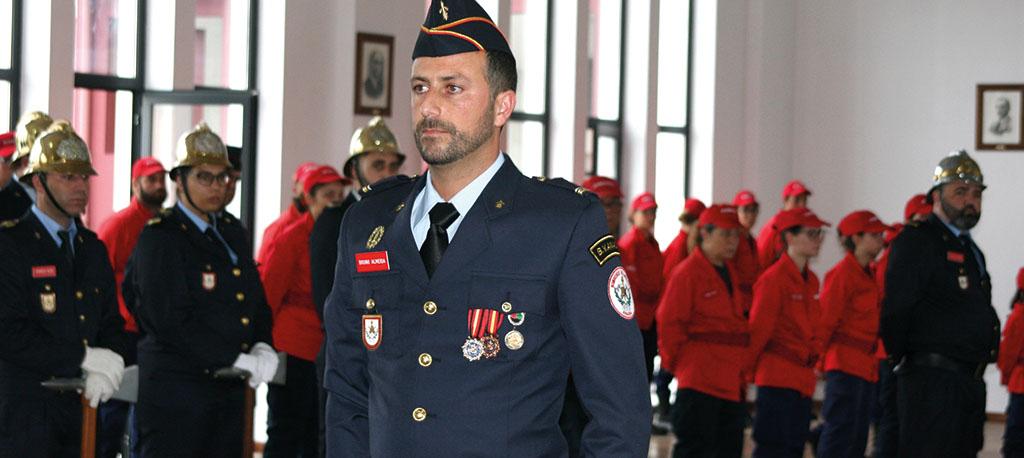 """""""Há um enorme trabalho a fazer"""", diz o novo comandante dos Bombeiros de Anadia"""