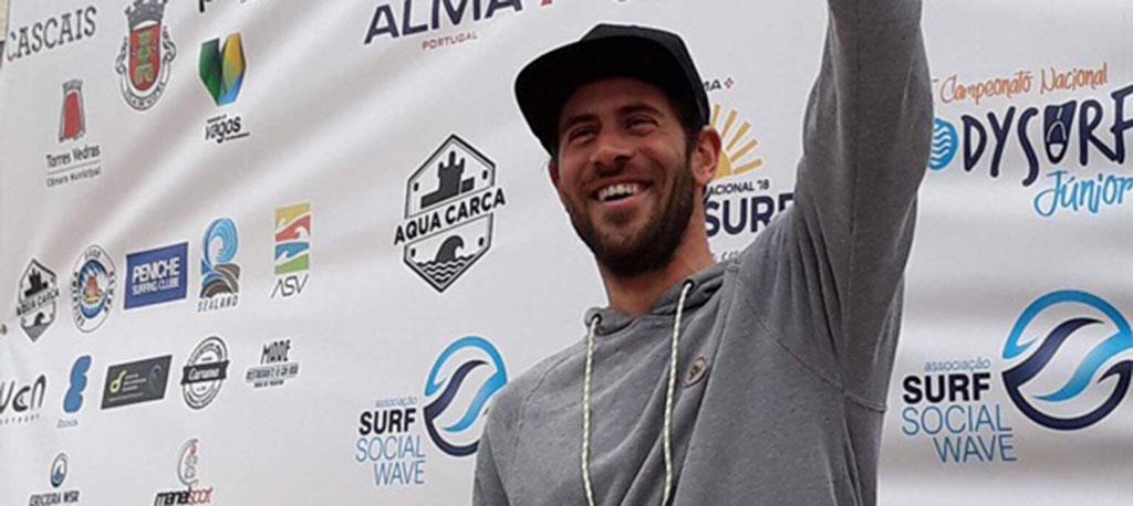 Vaguense Miguel Rocha é tricampeão do Campeonato Nacional de Bodysurf