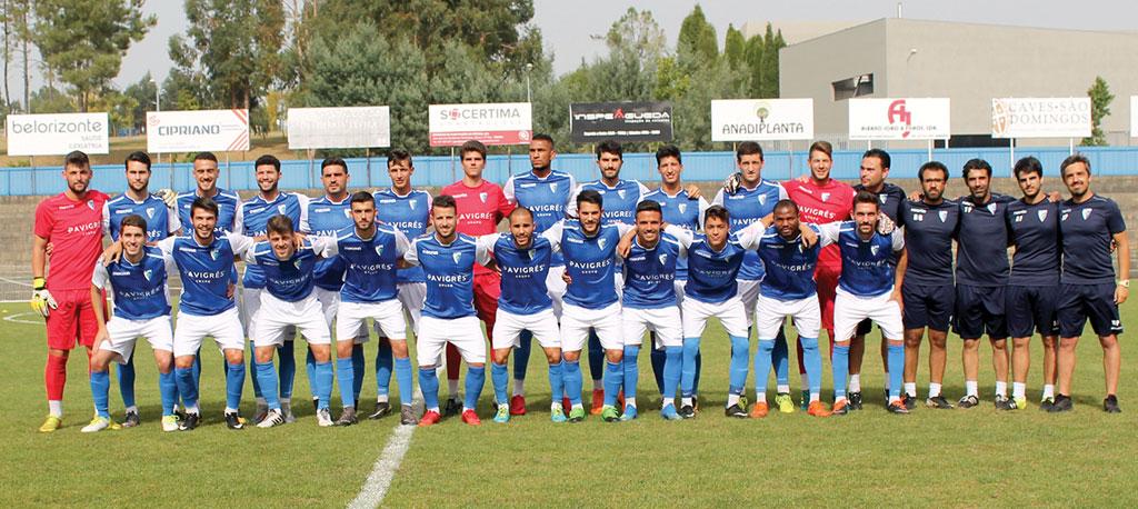 Anadia FC assumiu a partida mas não aguentou o resultado