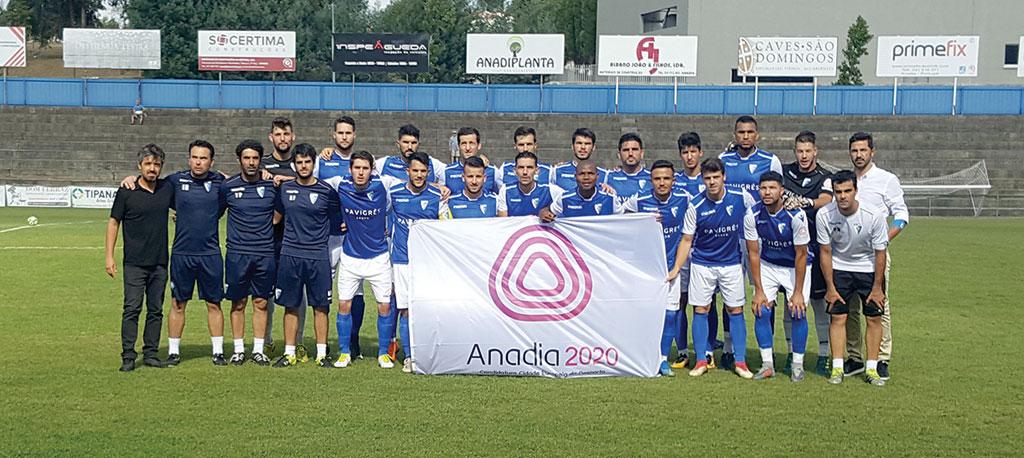 Futebol: Anadia FC entra com pé direito na nova época
