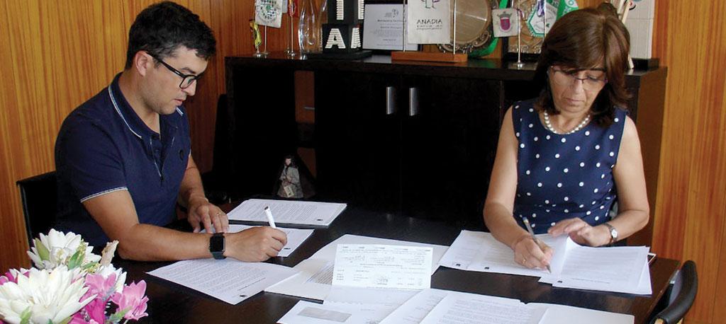 Anadia: Câmara Municipa, assina três novos protocolos com os bombeiros