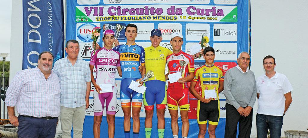 Ciclismo: Diogo Narciso (Maia Formação) vence VII Circuito da Curia