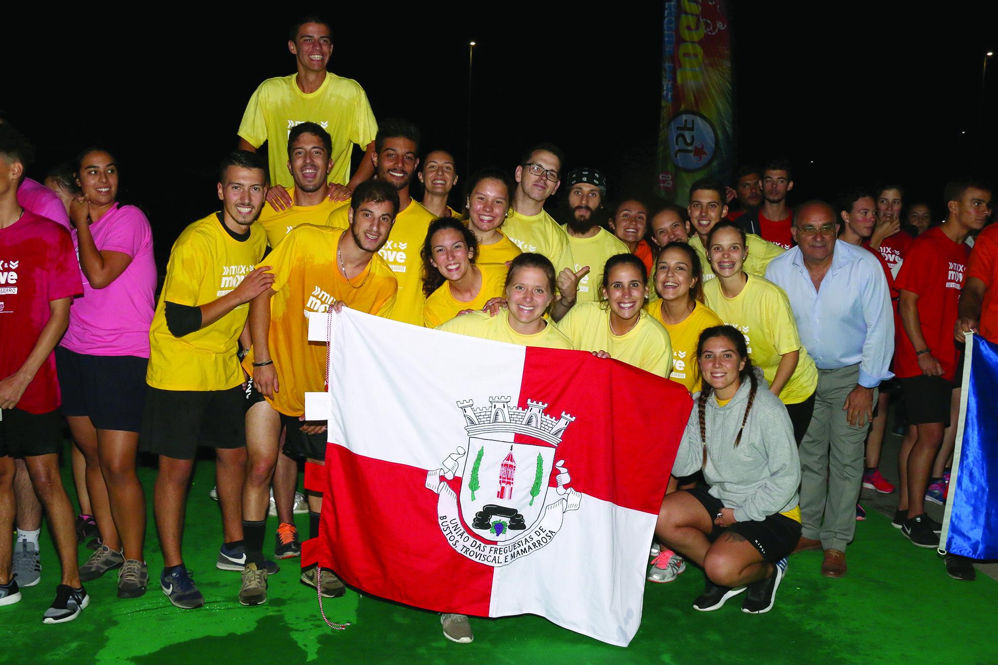 União de Freguesias BTM Vencedora dos Jogos Sem Fronteiras