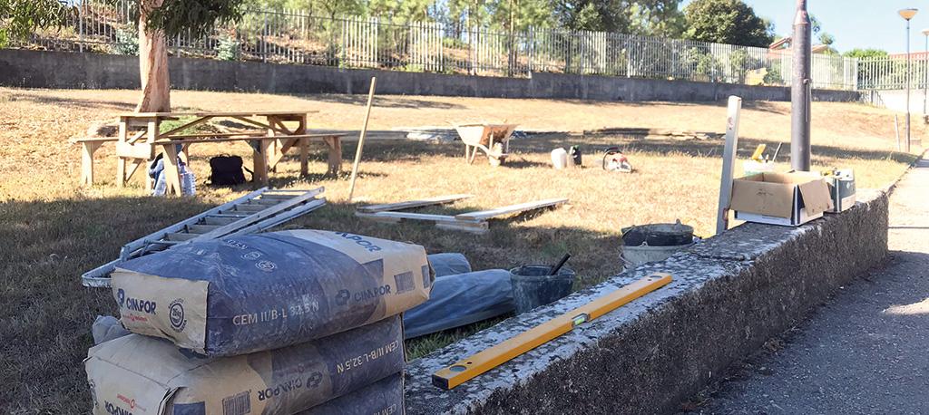 Obras na EB 2/3 de Oiã arrancaram a 1 de outubro