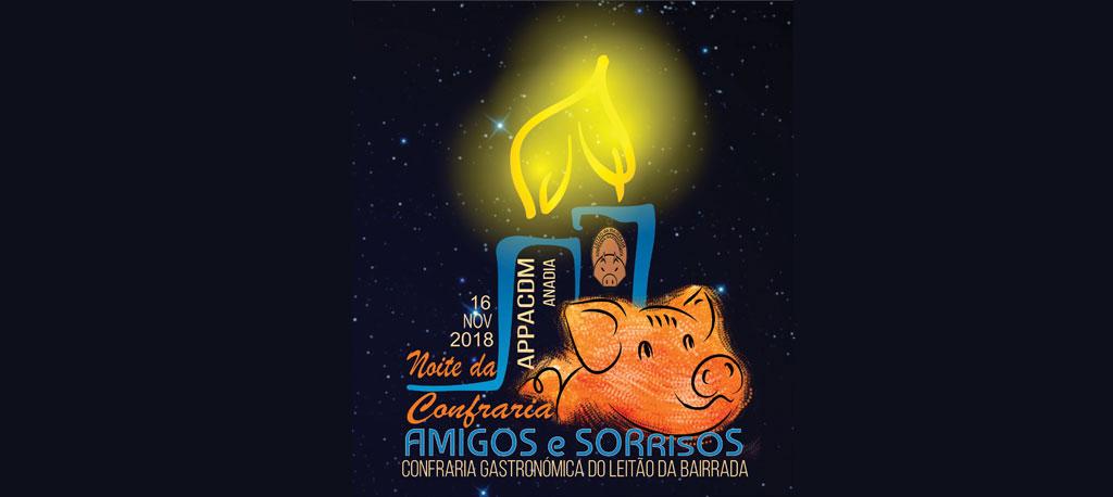 Noite da Confraria beneficia APPACDM de Anadia