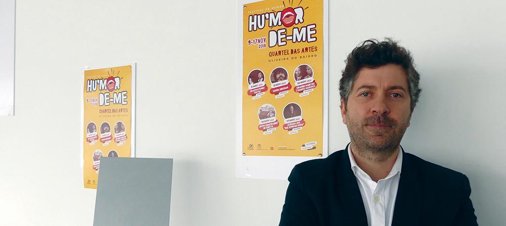 """Quartel das Artes lança festival """"Hu'morde-me"""""""