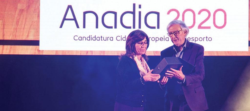 CM Anadia galardoada pela AB Aveiro