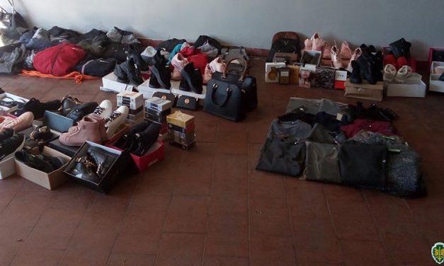 Vagos: Apreensão de 201 artigos contrafeitos