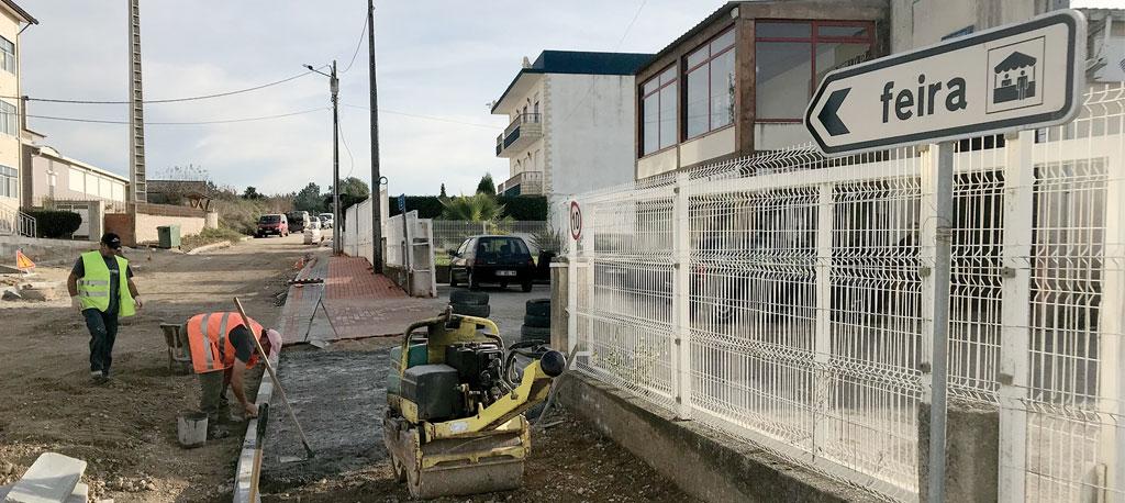 O. do Bairro: Município requalifica acesso à Feira da Palhaça