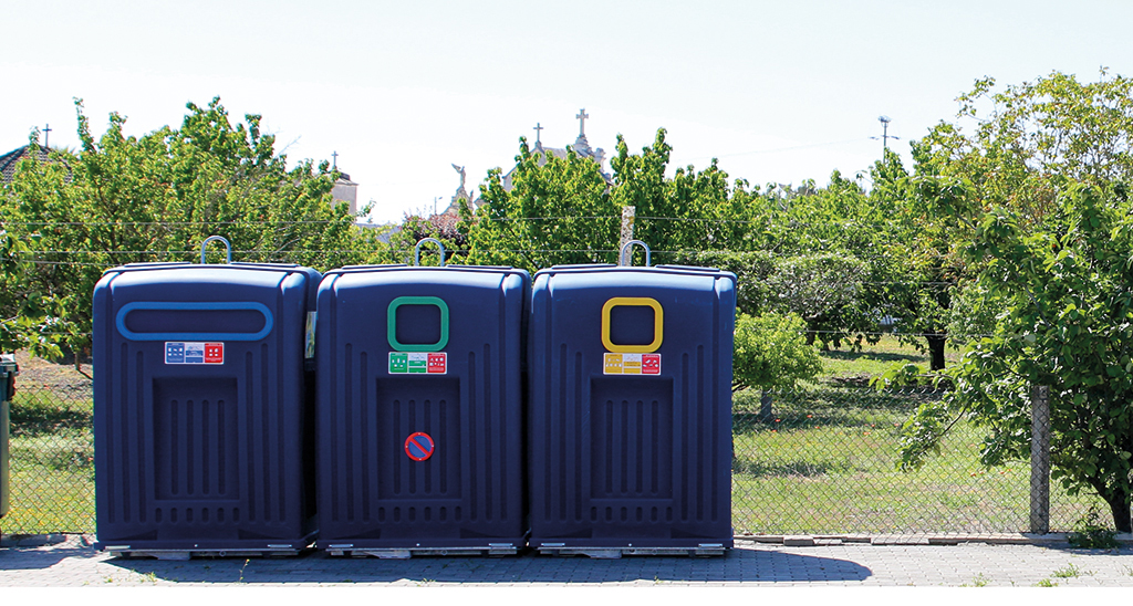 Oliveira do Bairro aumentou recolha seletiva de resíduos