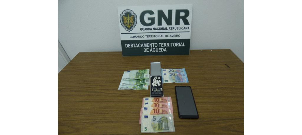Detido por tráfico de droga em Águeda
