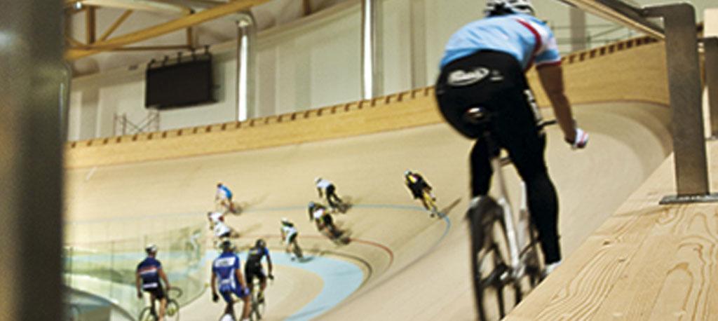 Velódromo, em Sangalhos, acolhe campeonatos nacionais de pista