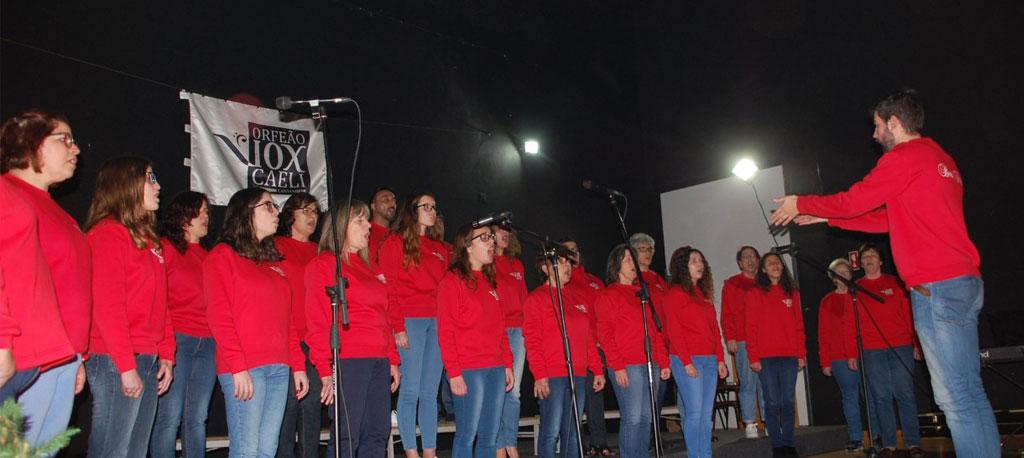 Vox Caeli de Cantanhede promove concerto itinerante no Freixial Shopping