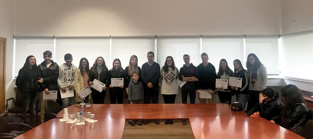 Vagos: Entregues certificados de participação do programa da Bandeira Azul
