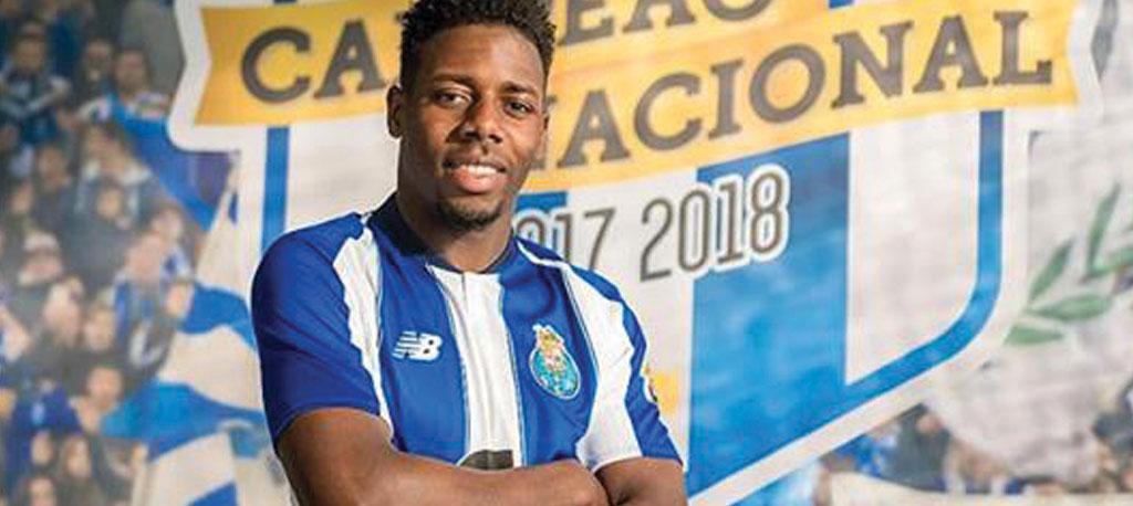 Wilson Manafá assina pelo FC Porto até 2023