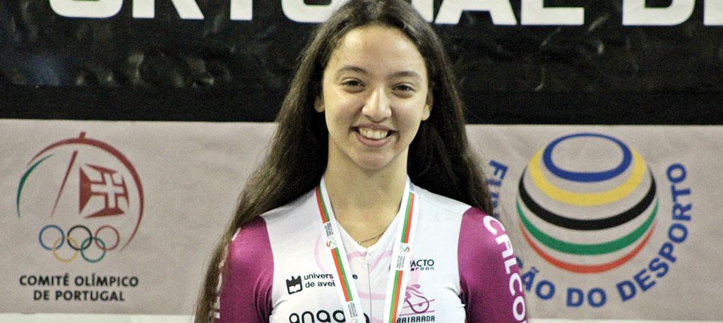 Beatriz Pereira (Bairrada) vence Taça de Portugal de pista