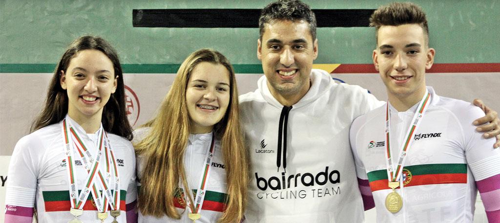 Clube Ciclismo da Bairrada conquista três títulos nacionais