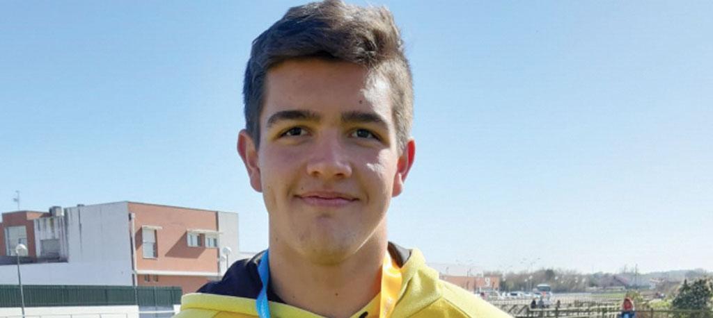 Marcelo Reis campeão nacional de juvenis