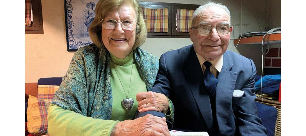 Dia dos Namorados: Amor de mais de 60 anos com a bênção de Frei Gil