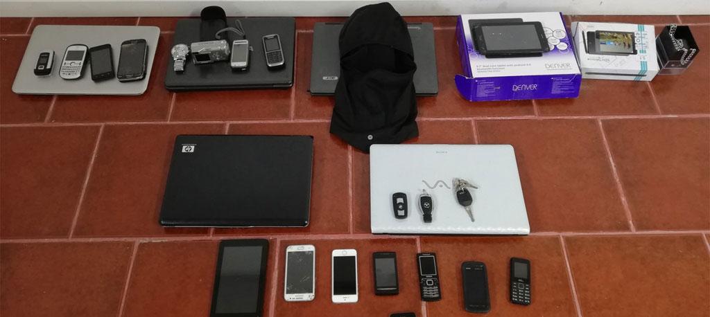 GNR de Anadia deteve suspeitos de 300 assaltos em viaturas