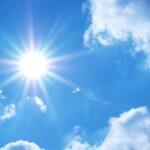 Fim de semana promete temperaturas acima do normal para a época