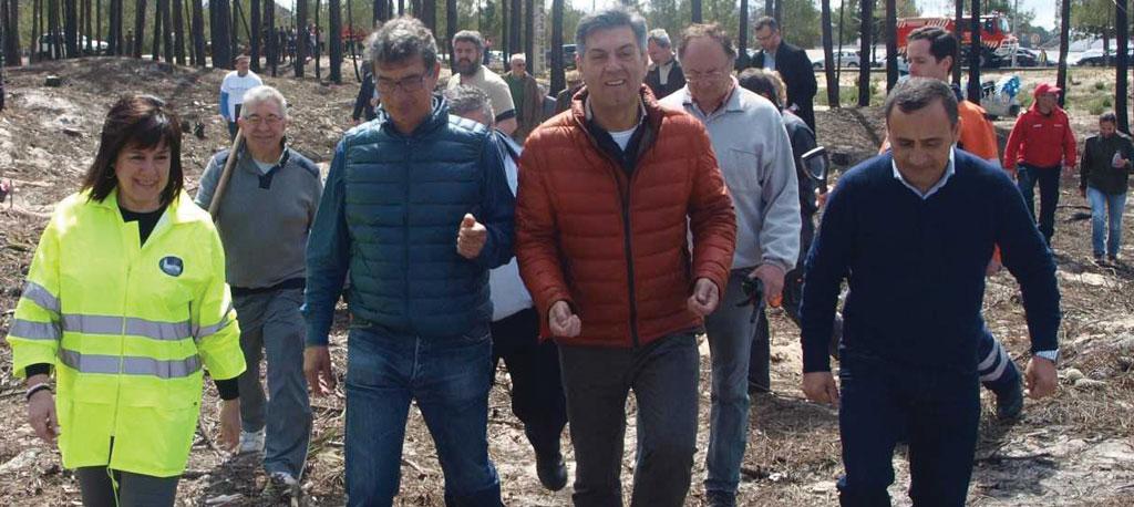 Cantanhede: Secretário de Estado das Florestas voltou à Tocha