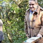 Fernando Mendes fez anos e ofereceu árvore à Mata do Buçaco