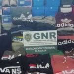 Águeda: Apreensão de roupa e calçado contrafeito em Aguada de Cima