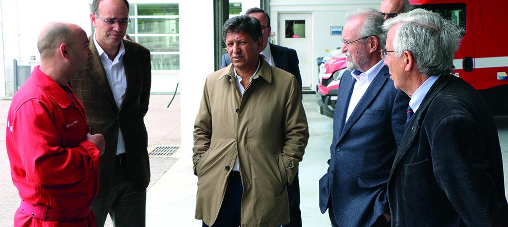 Oliveira do Bairro: Secretário de Estado leva memorando dos bombeiros