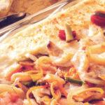 Receita da semana: Bacalhau gratinado com puré