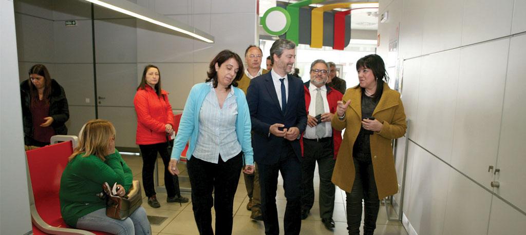 Secretário de Estado da Modernização Administrativa visitou Loja do Cidadão de Cantanhede