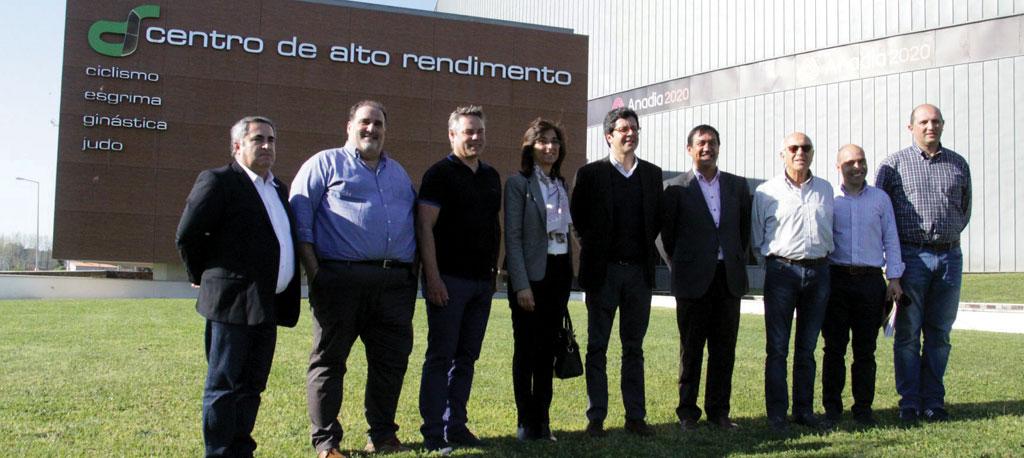 UCI visitou equipamentos velocipédicos do concelho de Anadia