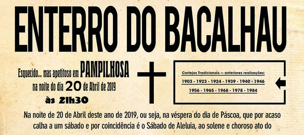 Pampilhosa: GEDEPA recria tradição antiga do Enterro do Bacalhau