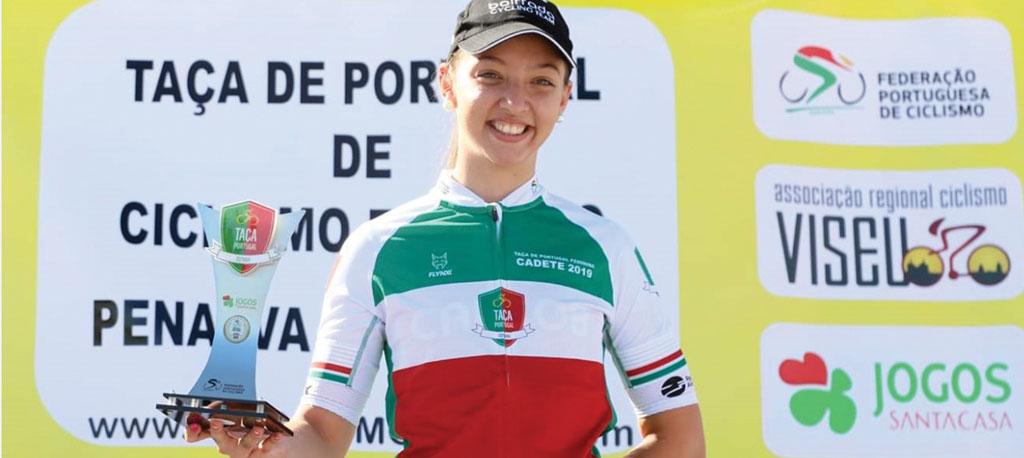 Beatriz Pereira (CC Bairrada) vence a Taça de Portugal