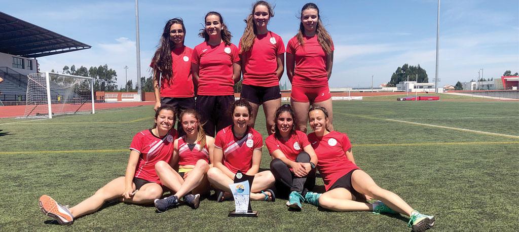 ADREP sagra-se campeã distrital de juniores femininos
