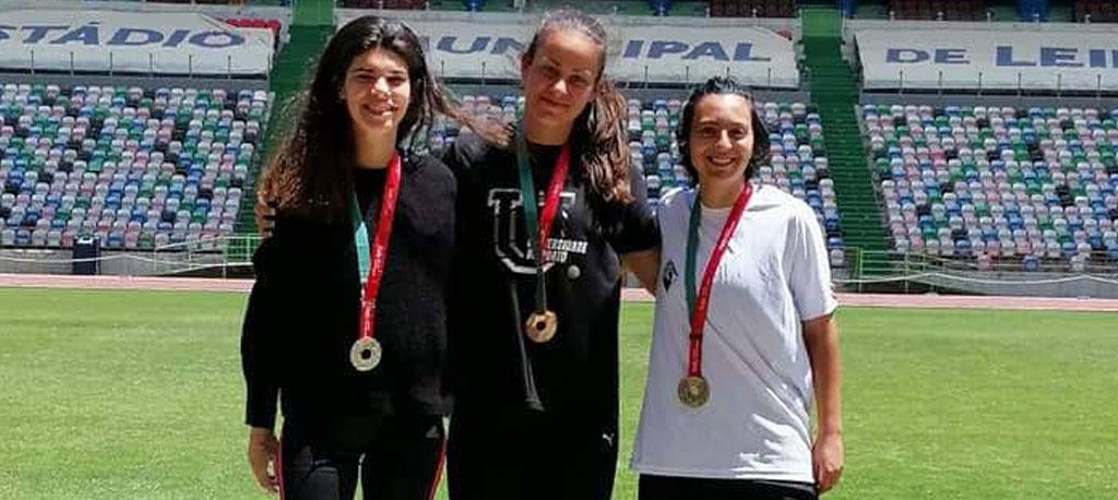 Juliana Rei sagra-se campeã nacional universitária