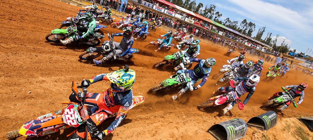 Mundial de Motocross: Tim Gajser e Jorge Prado vencem em Águeda