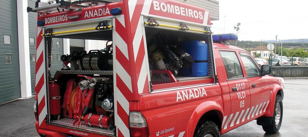 S. Lourenço do Bairro: Incêndio está a destruir habitação na Pedralva