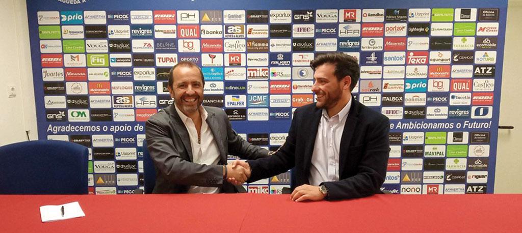 André Ribeiro é o novo treinador do Recreio Desportivo de Águeda