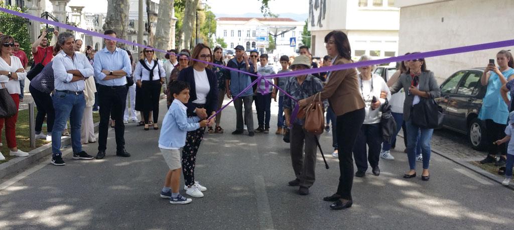 """Anadia: Avenidas decoradas com """"amor e originalidade"""""""