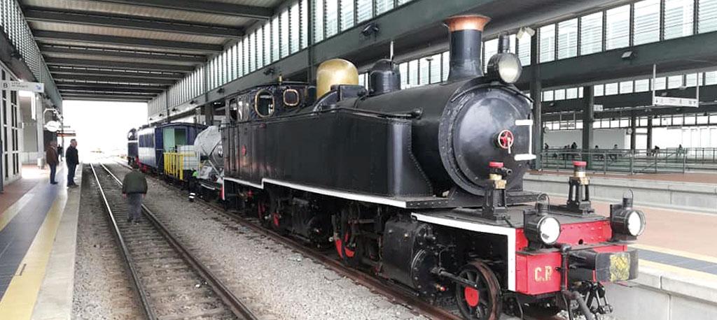 Comboio Histórico da Linha do Vouga regressa ao carril até outubro