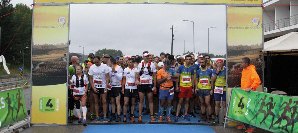 Anadia Wine Run junta 1200 participantes