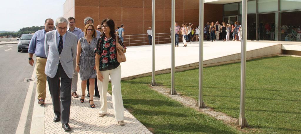 Anadia: Marçal Grilo presente no 11.º aniversário da Biblioteca Municipal