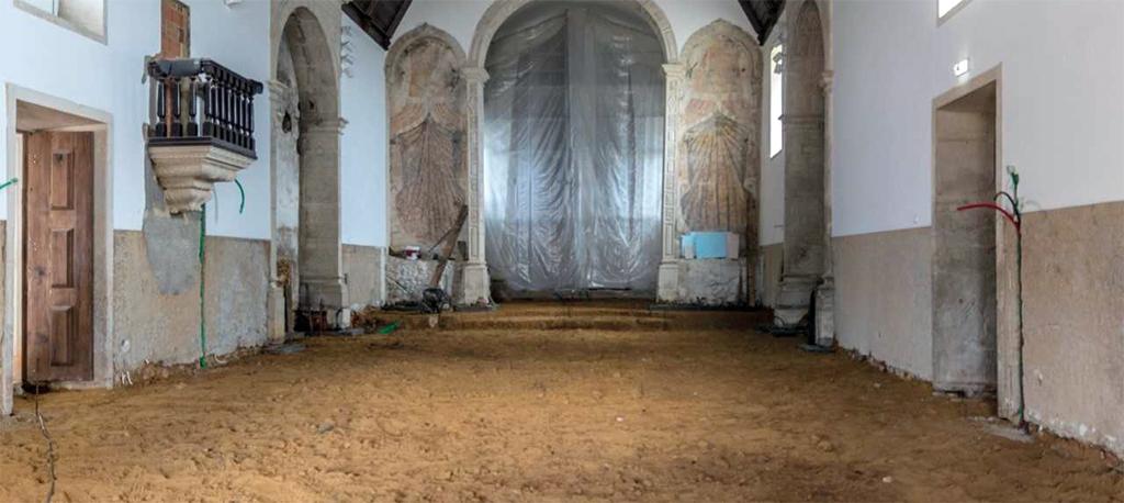 Igreja volta a encerrar para conclusão das obras