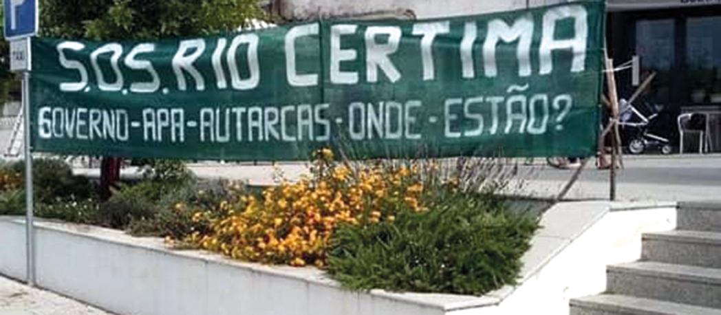 Águeda: Freguesias ribeirinhas intensificam SOS pelo Rio Cértima