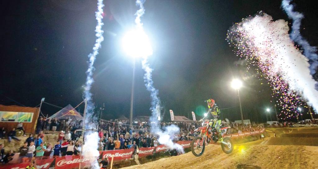 Supercross da Poutena: cinco mil espetadores vibraram na Pista Nelson Alves